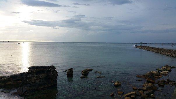 Water, Sea, Sunset, Beach, Nature, Seashore, Ocean