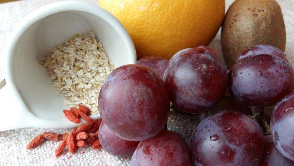 Food, Recipe, Ingredients, Breakfast, Grapes
