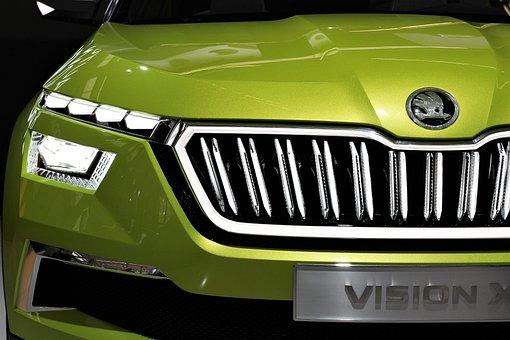 Car, škoda Vision X, Auto Show Zagreb 2018