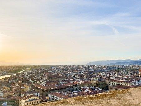 Panoramic, Travel, City, Architecture, Cityscape