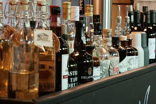 Bottle, Bar, Alcohol, Drink, Stock, Gin, Port Wine