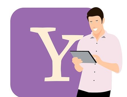 Yahoo, Application, Internet, Web, Www, Tablet, Young