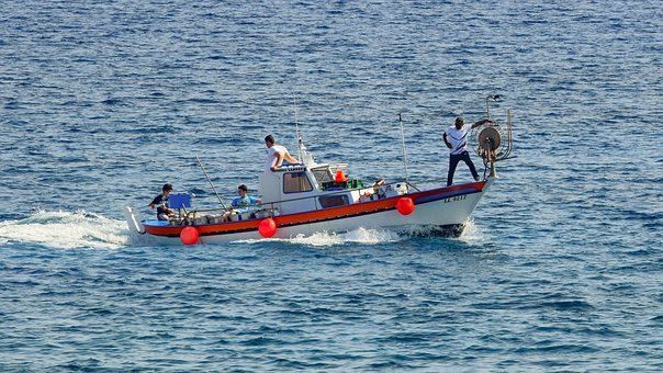 Sea, Boat, Leisure, Recreation, Tourism, Cyprus