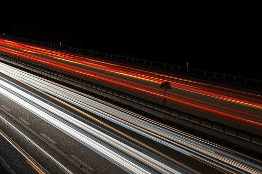 Road, Traffic, Movement, Speed, Auto, Light