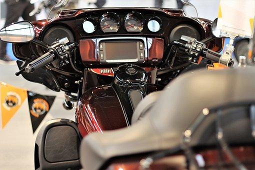 Motorbike Harley Davidson, Zagreb Auto Show 2018