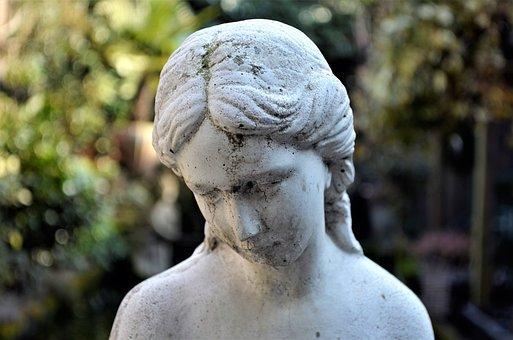 Sculpture, Statue, Stone, Outdoor, Art, Old, Portrait