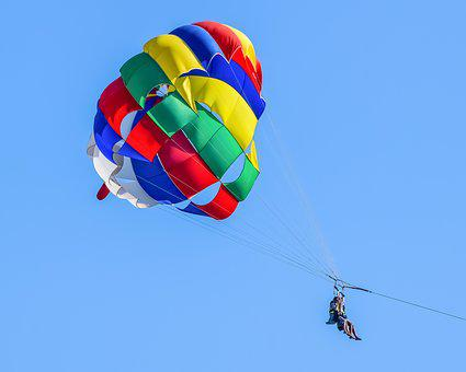 Parachute, Sport, Air, Flying, Paragliding, Balloon