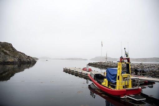 Body Of Water, Sea, Pir, Skärhamn, Bohuslän, Sweden