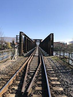 Railway, Locomotive, Railroad Track, Train, Travel