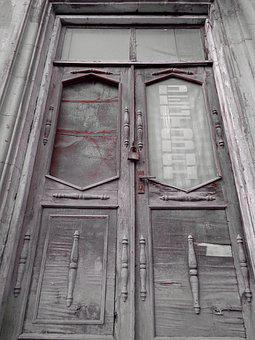 Architecture, Door, Window, Old, Wood, Retro, Building