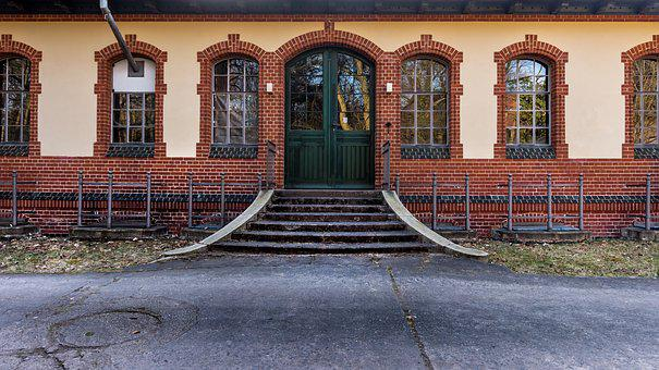 Architecture, Home, Road, Old, Building, Input, Window