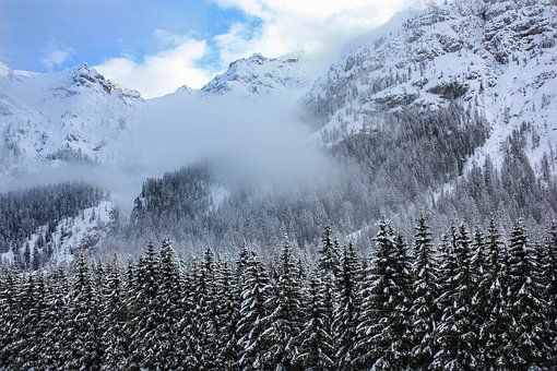 Snow, Mountain, Nature, Landscape, Winter