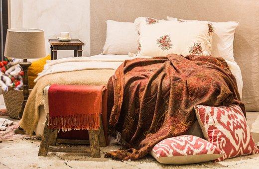Bedroom, Furniture, Pillow, Bed