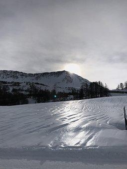 Snow, Winter, Landscape, Body Of Water