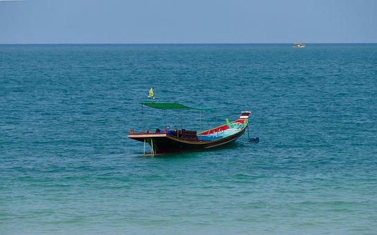 Sea, Waters, Boot, Ocean, Travel, Coast, Ship, Holiday