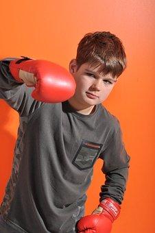 Young, Glove, Power, Sports, Train, Boxer, Man, Boy