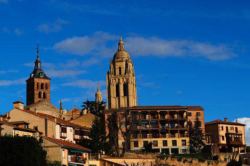 Segovia, Old, Architecture, Cathedral, City, Travel