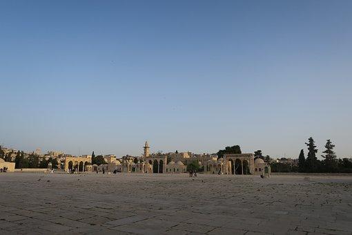 City, Jerusalem, On, Travel, Sky, Masjid Al-aqsa