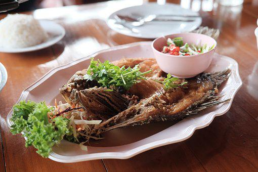 Deep Fried Snapper With Fish Sauce, Deep Fried Fish