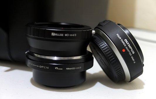 Lens, Equipment, Adapter, Nikon, Minolta, Mount