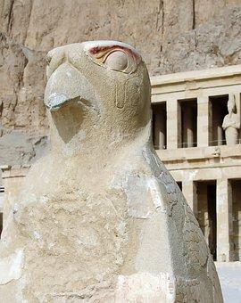 Egypt, Thebes, Hatshepsut, Temple, Horus
