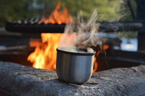 Flame, Heat, Hot, Smoke, Burn, Cooking, Campfire