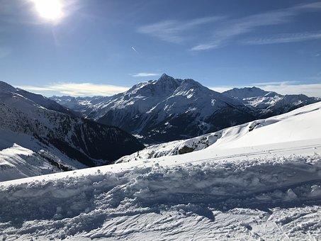 Snow, Mountain, Winter, Ice