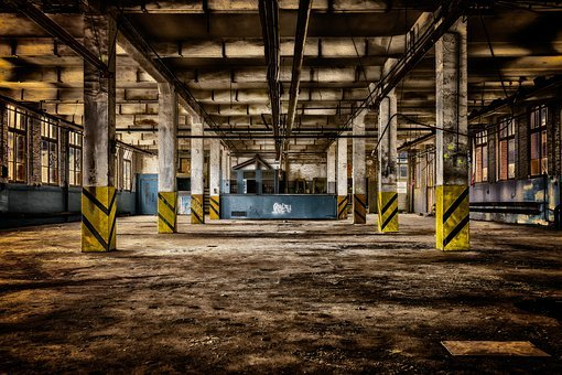 Lost Places, Pforphoto, Abandoned Places, Old Factory