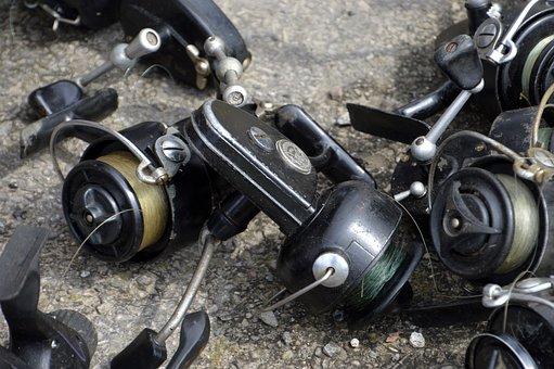 Wheel, Machine, Equipment, Steel, Chrome, Gear, Fishing