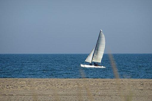 Body Of Water, Sea, Ocean, Boat