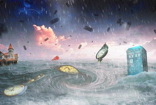 Storm, Ocean
