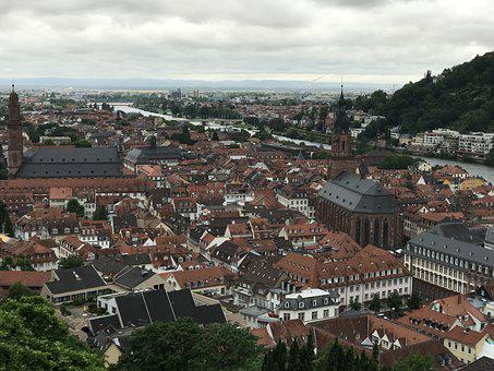 City, Roof, Structure