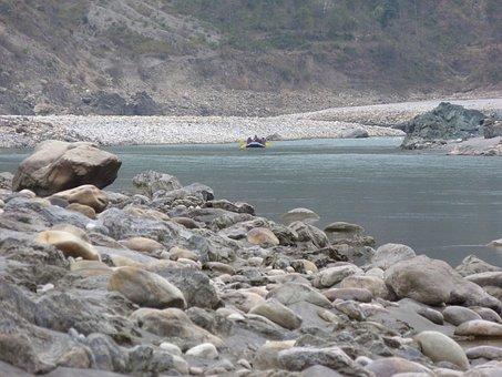 India, Water, Scene, Beauty