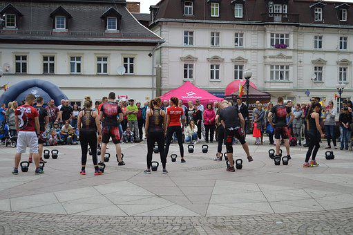 Body, Fit, People, Square, City, Exercise