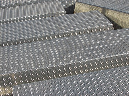 Steel, Iron, Sheet, Pattern, Background, Industry