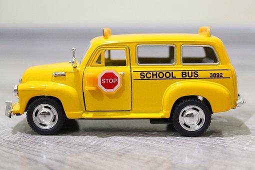 Car, Vehicle, Transportation System, Drive, School Bus