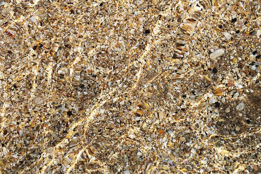 Background, Water, Coquina