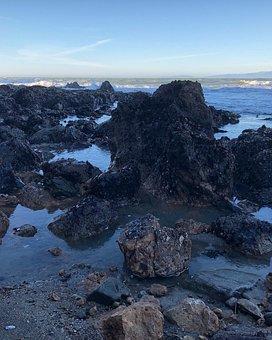 Water, Seashore, Landscape, Sea, Rock, Nature, Ocean