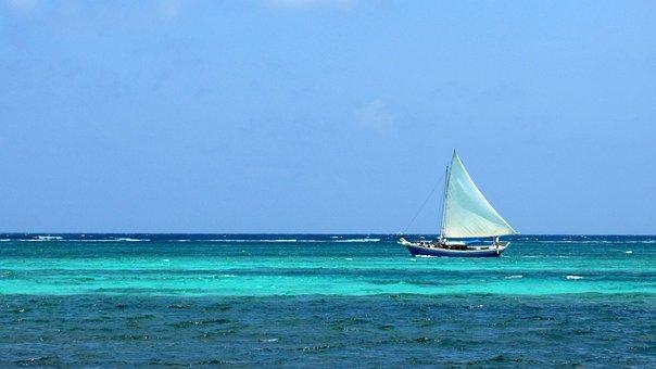 Water, Sea, Boat, Summer, Nature, Ocean, Sail, Holiday