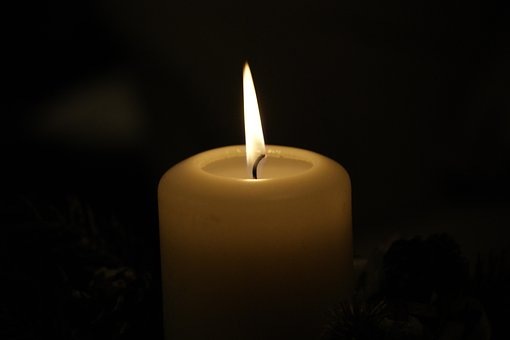 Candle, Wax, Candlelight, Dark, Flame