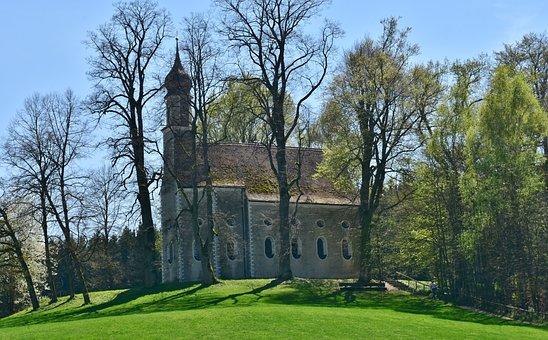 Church, Chapel, Winter, Small Church, Steeple