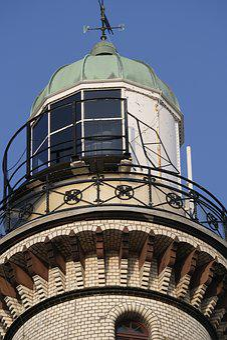 Architecture, Lighthouse, Lighthouse Warnemünde, Beacon