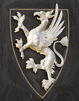 Sculpture, Art, Coat Of Arms, Griffin, Rostocker Greif