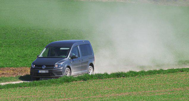 Auto, Lane, Dusty, Dry, Mood, Drought, Field, Earth