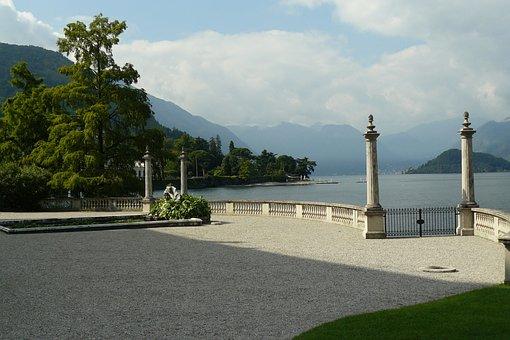Lake Como, Bellagio, Villa Melzi, Travel