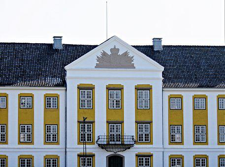 The Castle Of Augustenborg, Denmark