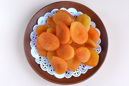 Dried Apricots, Apricot, Dried, Food, Dried Fruits