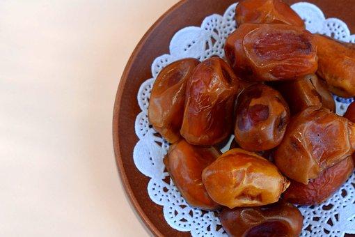 Dates, Dried, Food, Dried Fruits, Sweet, East, Fruit