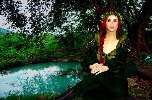 Woman, Magical, Mystical, Fantasy, Elf, Magic, Princess