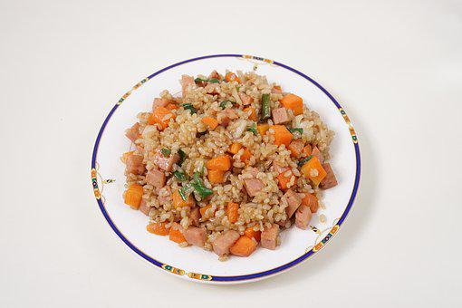 Food, Health, Dining, Fried Rice